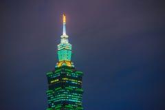 101 небоскреб taipei Стоковая Фотография