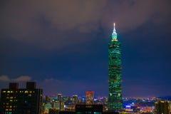 101 небоскреб taipei Стоковые Фотографии RF