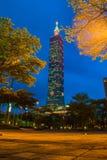 101 небоскреб taipei Стоковое фото RF