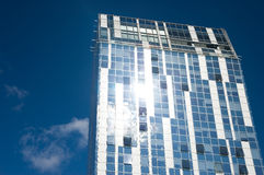 небоскреб vilnius стоковые фотографии rf