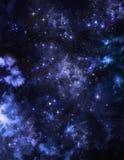 Небо абстрактной предпосылки звёздное Стоковые Фотографии RF