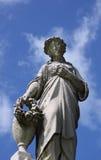 небо ангела голубое Стоковое Фото