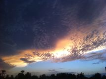 Небо Аризоны Стоковая Фотография