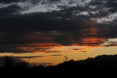 небо бурное Стоковая Фотография RF