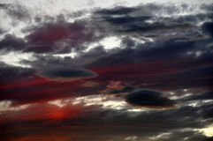 небо бурное Стоковое Фото