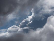 небо бурное Стоковая Фотография