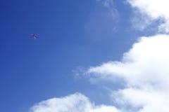 небо вертолета облака Стоковые Изображения