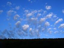 Небо весны стоковое изображение