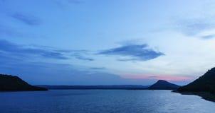 Небо вечера Стоковые Фотографии RF