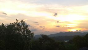 Небо вечера Стоковое Фото