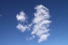 небо влюбленности Стоковое Изображение