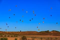 небо воздушных шаров горячее Стоковые Изображения RF