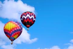 небо воздушных шаров горячее Стоковая Фотография RF