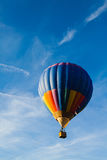 небо воздушного шара голубое цветастое горячее Стоковое Изображение RF