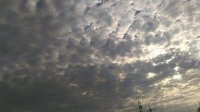 Небо восхода солнца Стоковая Фотография RF