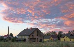 Небо восхода солнца Стоковые Изображения RF