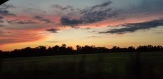 Небо в движении стоковая фотография rf
