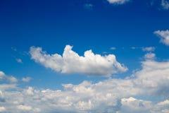 Небо в лете стоковые изображения rf