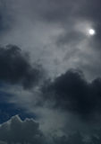 небо в октябре Стоковая Фотография