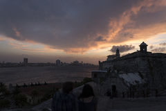 Небо Гаваны Стоковое Фото