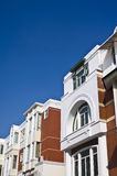 небо голубой дома самомоднейшее славное Стоковое Фото