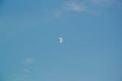 небо голубой луны Стоковое фото RF