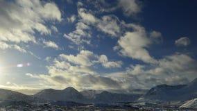 Небо гористых местностей Стоковые Фотографии RF