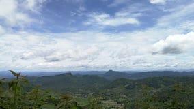 Небо горы голубое Стоковое фото RF