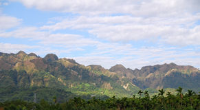 небо горы Стоковое Фото