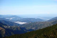небо гор Стоковые Изображения RF