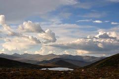 небо гор Стоковая Фотография