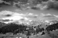 Небо гор Стоковое Изображение