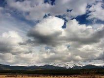 небо гор colorado Стоковое Изображение RF