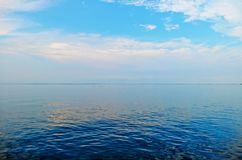 Небо голубо Стоковая Фотография