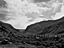 Небо Грузии стоковые фотографии rf