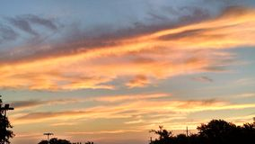 Небо Далласа Стоковая Фотография RF