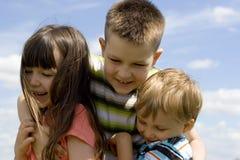 небо детей Стоковое Фото