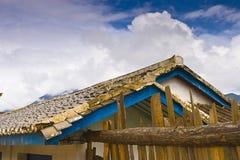 небо дома Стоковые Фотографии RF