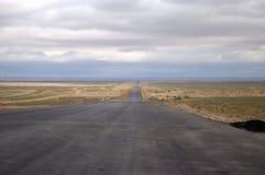 небо дороги Стоковая Фотография
