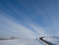 небо дорог к Стоковые Фото