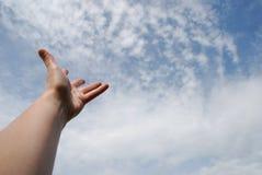 небо достигаемости Стоковая Фотография RF