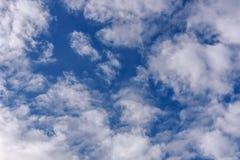 Небо заволакивает предпосылка картины Стоковое Изображение RF