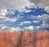 небо загородки Стоковые Изображения RF
