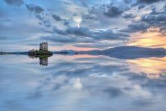 небо замока стоковое фото rf