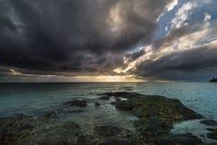 Небо, заход солнца, восход солнца стоковое изображение rf