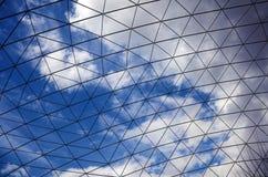 Небо за клеткой Стоковое Фото
