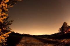 небо звёздное Стоковое фото RF