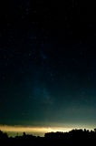 небо звёздное Стоковая Фотография RF
