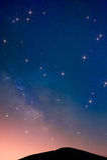 небо звёздное Стоковое Фото