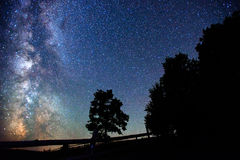 небо звёздное Стоковое Изображение
